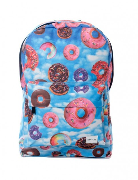 Spiral Donut Sky Backpack Backpack in Donut Sky