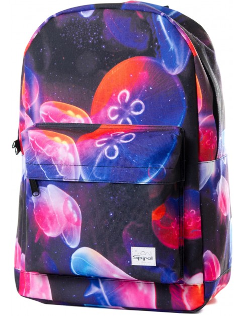Black Spiral Electric Jelly Backpack