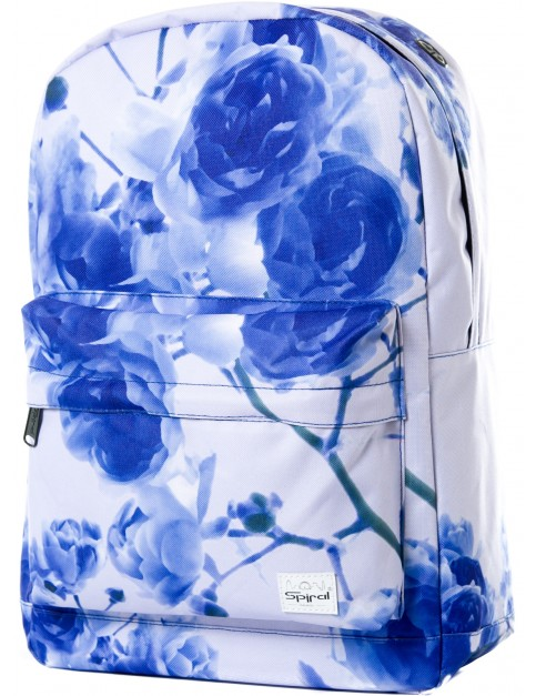 Blue Spiral Eternal Roses Backpack