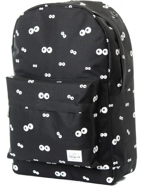 Black Spiral Eye to Eye Backpack
