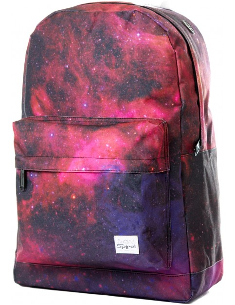 Black Spiral Galaxy Nightsky Backpack