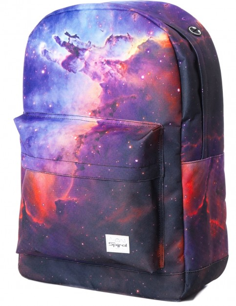 Spiral Galaxy Nova Backpack in Grey