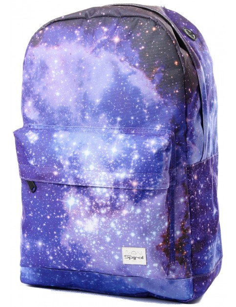 Spiral Galaxy Saturn Backpack