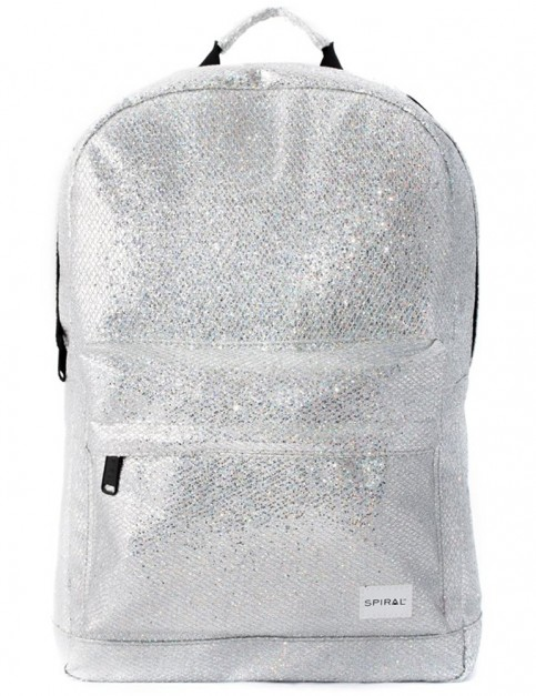 Spiral Glamour OG Backpack in Silver