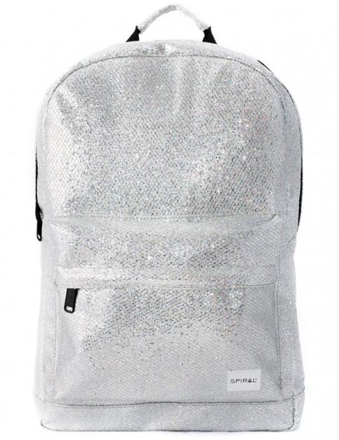 Spiral Glamour OG Backpack in Silver