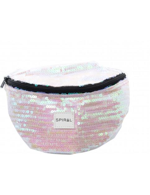Spiral Glamour Sequins Bum Bag