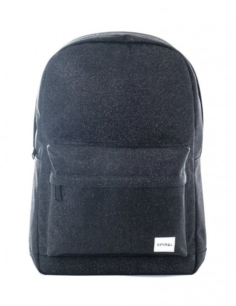 Spiral Glitter Backpack Backpack in Black