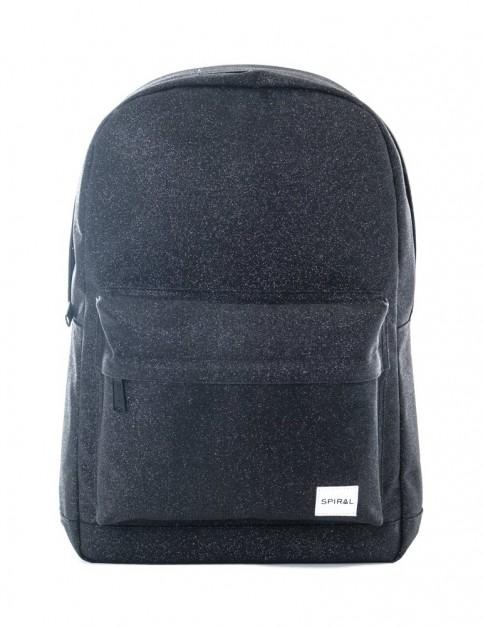 Spiral Glitter Backpack Backpack in Black
