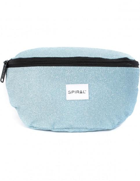 Spiral Glitter Mint Bum Bag in Mint