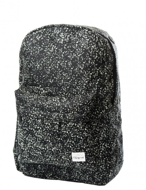 Spiral Glow in the Dark Backpack in Speckles