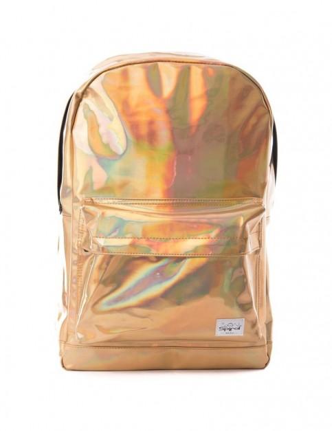 Spiral Gold Rave Backpack Backpack in Gold