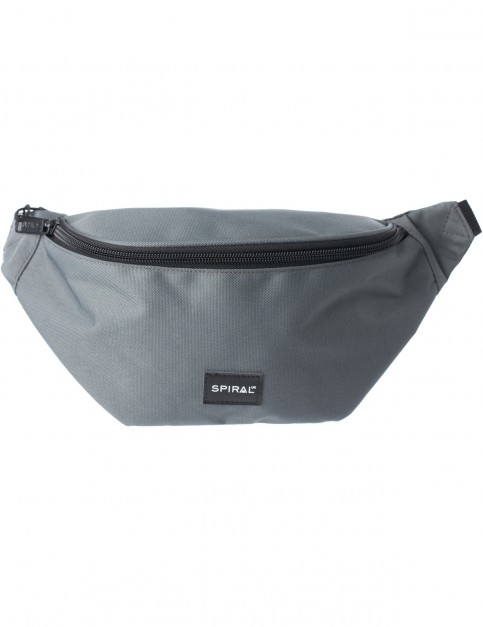 Spiral Grey Core Bum Bag in Grey