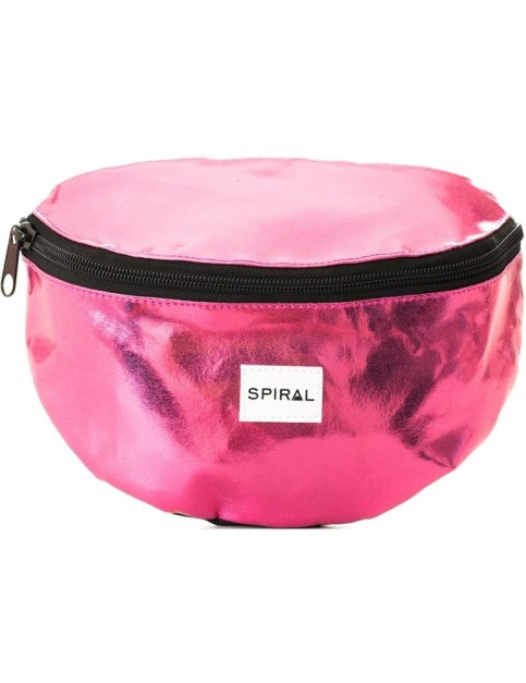 Spiral Hot Pink Rave Bum Bag