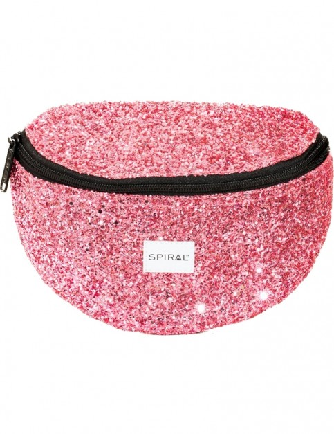 Spiral Hot Pink Stardust Bum Bag