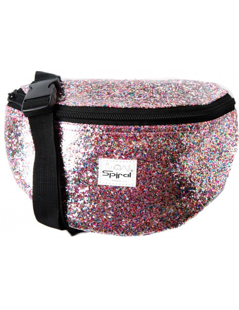 Spiral Jewels Bum Bag in Rainbow