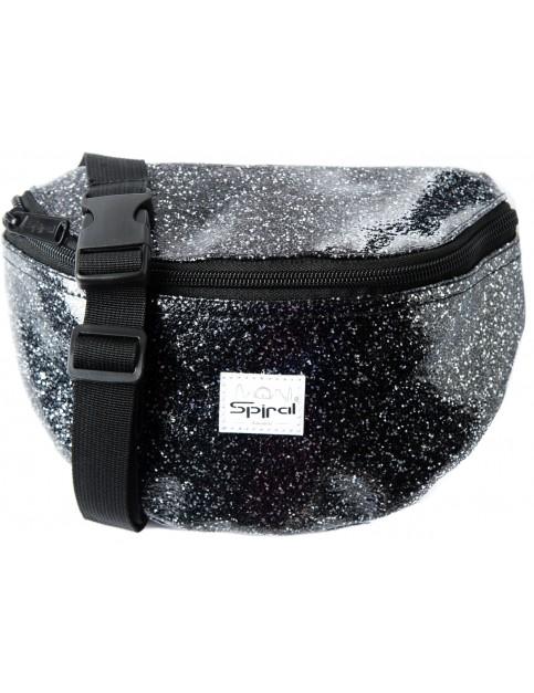 Black Spiral Jewels Bum Bag
