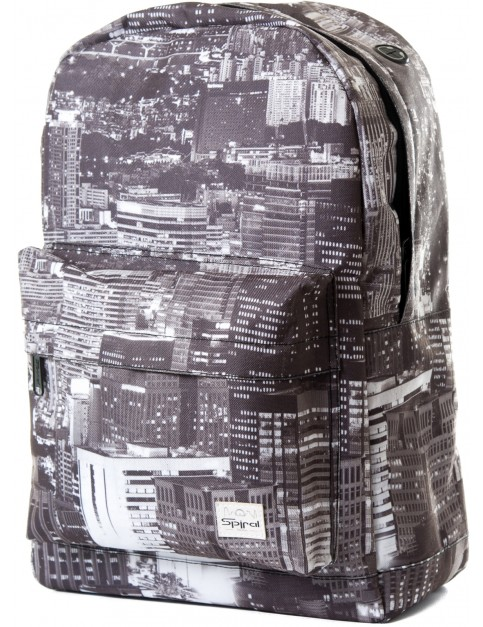 Black Spiral Landscape Backpack