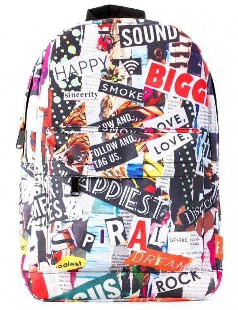 Spiral Mesh SP OG Backpack in Olive-Black