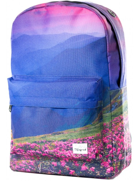 Spiral Mountain Blossom Backpack in Blue