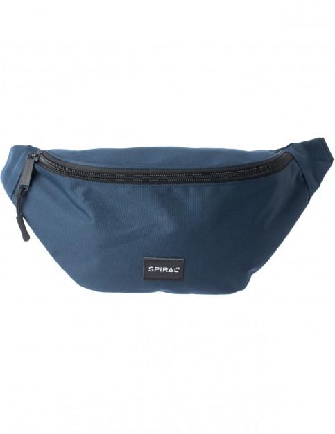 Spiral Navy Core Bum Bag in Navy