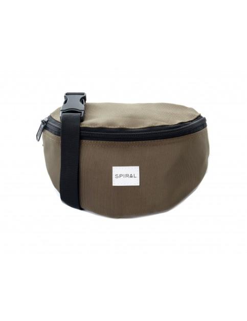 Spiral Olive Bum Bag