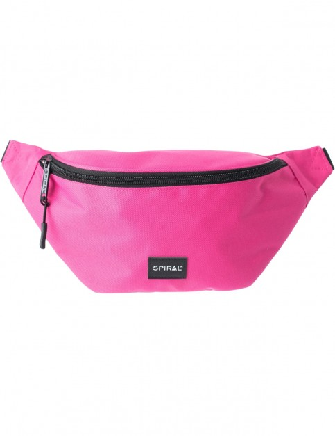 Spiral Pink Core Bum Bag in Pink
