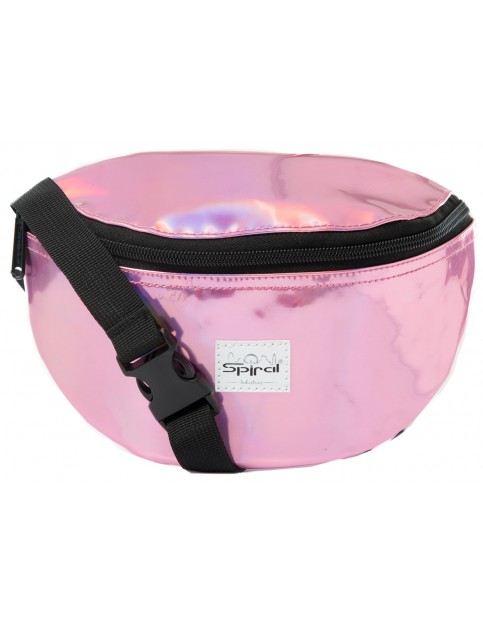 Spiral Pink Rave Bum Bag in Pink