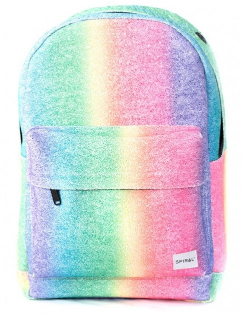 Spiral Rainbow Crystals Backpack in Multi