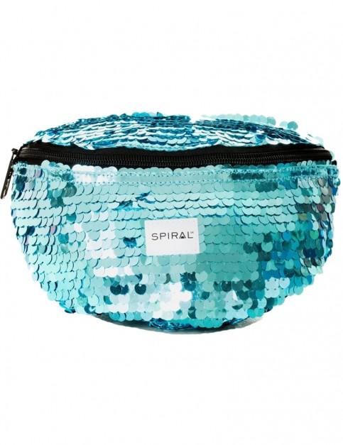 Spiral Ritz Bum Bag in Aqua