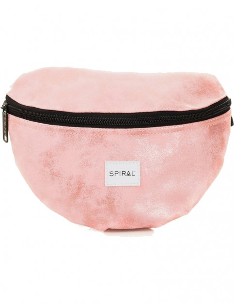 Spiral Rose Gold Bum Bag