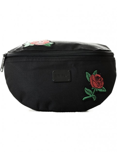 Spiral Rose Patches Bum Bag