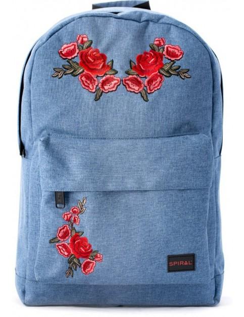 Spiral Rosegarden Backpack in Blue