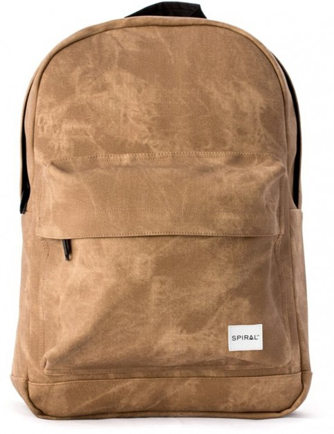Spiral Sandstone Backpack in Sandstone