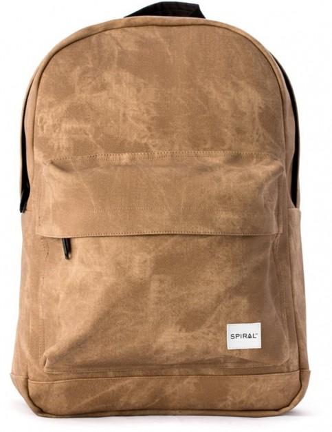 Spiral Sandstone Backpack in Sandstone