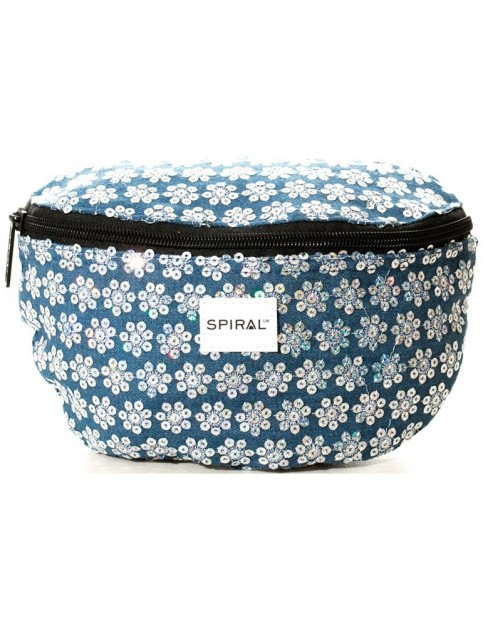 Spiral Sequin Daisy Bum Bag