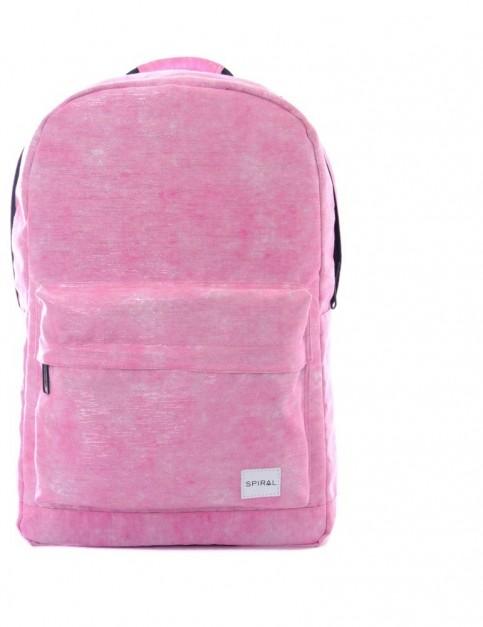 Spiral Shimmer Backpack Backpack in Pink