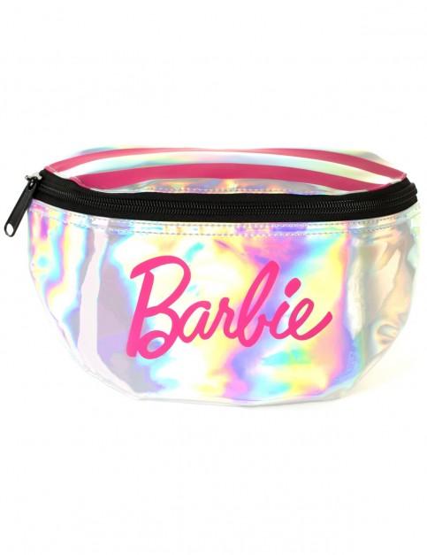 Spiral Sp Barbie Stripes Bum Bag in Silver