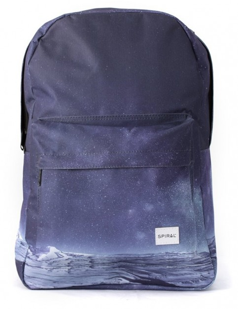 Spiral Space Mountain Backpack in Purple