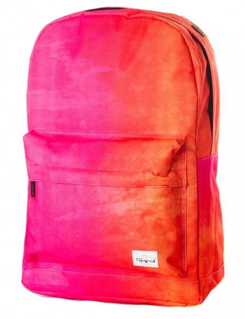 Spiral Summer Fade Backpack in Pink