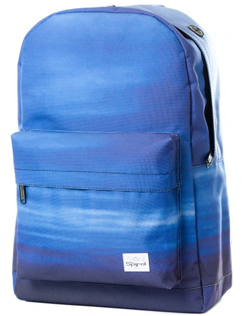 Blue Spiral Sunset Backpack