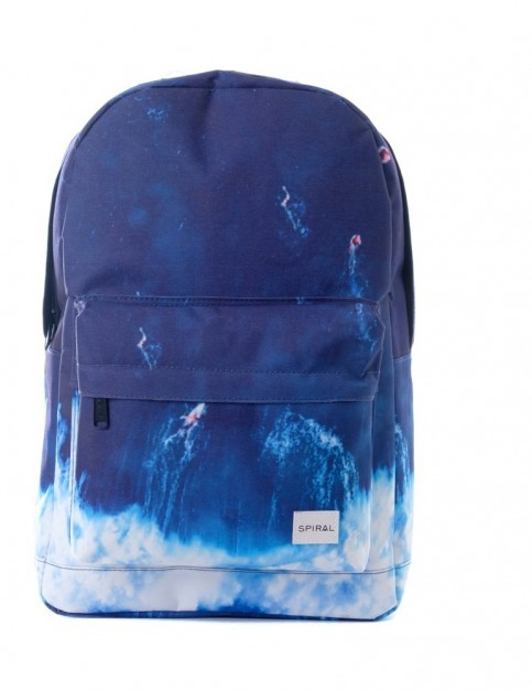 Spiral Surfs Up Backpack Backpack in Surf Blue