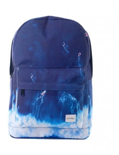 Spiral Surfs Up Backpack Backpack in Surf Blue