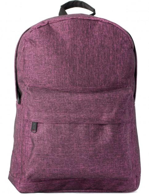 Spiral Textured Backpack in Violet