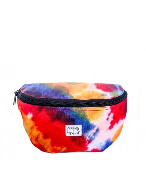 Spiral Tie Dye Festival Bum Bag in Tie Dye
