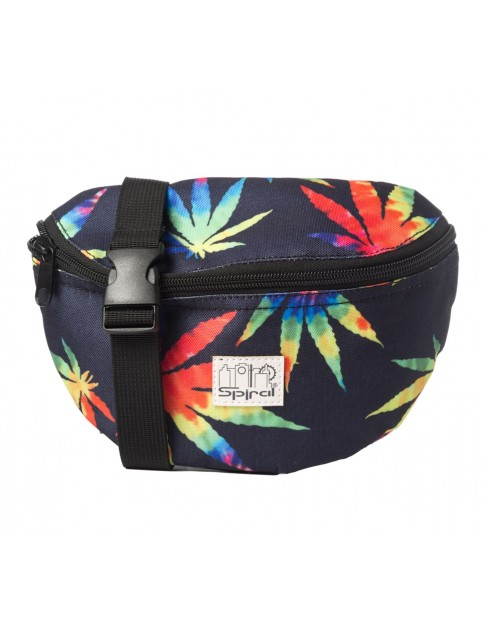 Spiral Tie Dye Grass Bum Bag