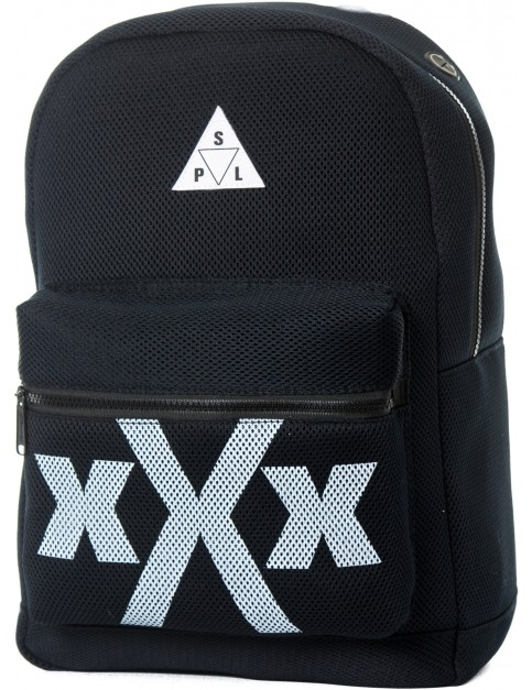 Spiral Triple XXX Mesh Backpack in Black