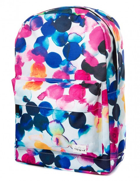 Spiral Watercolour Backpack in Aqua