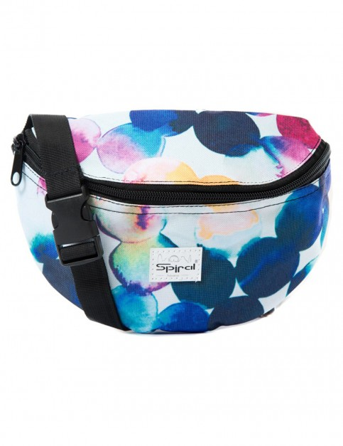 Spiral Watercolour Bum Bag
