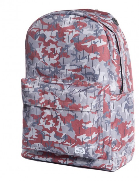 Spiral Woodland Camouflage Backpack