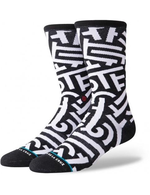 Stance Aaron De La Cruz Crew Socks in Black
